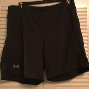 Under Armour Black nylon polyester short 40 waist